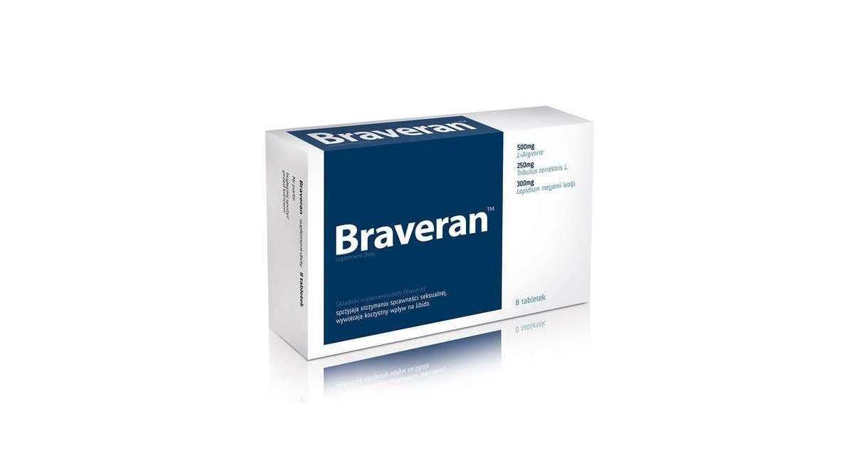 Braveran – co warto wiedzieć o popularnym suplemencie diety na zaburzenia erekcji?